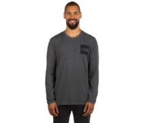 Fine T-Shirt LS tnf dark gry heathr (std)