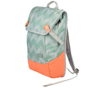 Daypack Backpack flicker mint coral