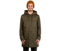 Warrington Parka Jacket black olive