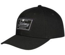 Walled Snapback Cap black