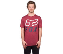Heritage Forger T-Shirt heather burgundy
