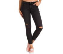 Destructed Skinny Jeans smoke