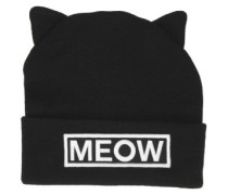 Miss Meow Beanie black