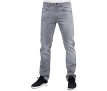 Lowfly Jeans light grey wash