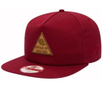 Tri Patch Snapback Cap cardinal