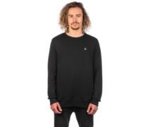Single Stone Crew Sweater black