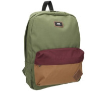 Old Skool II Backpack grape leaf colorblock