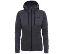Tech Mezzaluna Hooded Fleece Jacket tnfblack