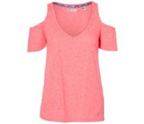 Shoudler Fun T-Shirt shocking pink