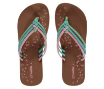 Ditsy Sandals Women papaya punch