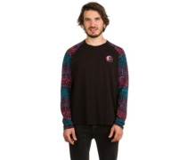 Heritage Printed T-Shirt LS black out