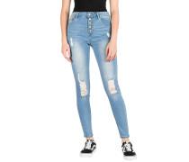 Drea W/Button Fly Jeans rush