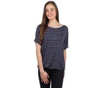 Striped Girl T-Shirt dark blue