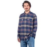 Fjord Flannel Shirt defender neo navy