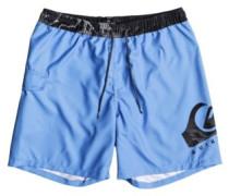 """Lava Logo Volley 17"""" Boardshorts bonnie blue"""