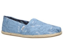 Alpargata Animal Initiative Collection Slippers blue migration root