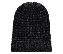 Cosy Wool Mix Beanie black out