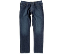 Worker Straight Jeans stone wash
