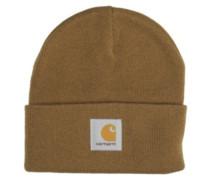 Short Watch Hat hamilton brown