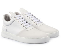 Sneakers Low Top Diagonal White