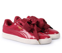 Sneakers Basket Heart Red