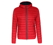 Light-Daunenjacke mit Kapuze Red