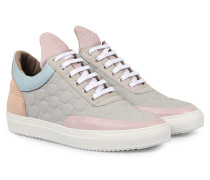 Sneakers Low Top Quilted Moon