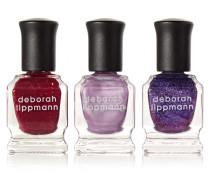 Purple Rain Nail Polish Set – Nagellackset