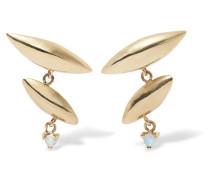 Formation Ohrringe aus 14 Karat  mit Opalen