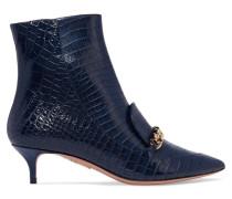 Editor Ankle Boots aus Leder