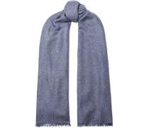 Schal aus einer Kaschmir-seidenmischung