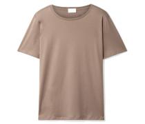 T-shirt aus Pima-baumwoll-jersey