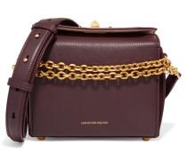 Box Bag 19 Schultertasche aus Strukturiertem Leder