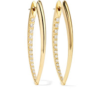 Cristina Ohrringe aus 18 Karat  mit Diamanten