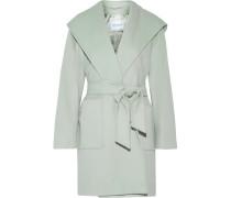 Mantel aus Kamelhaar mit Kapuze