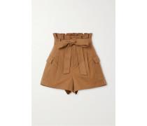 Laurine Shorts aus Twill aus einer Baumwollmischung