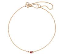 Armband aus 14 Karat  mit Granat