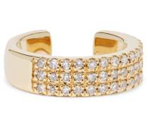Ear Cuff aus  mit Diamanten