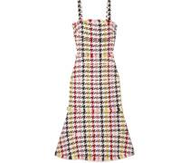 Kleid aus Tweed aus einer Wollmischung