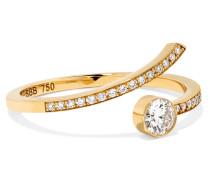 Amour Ring aus 18 Karat  mit Diamanten
