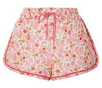 Goldie Shorts aus einer Leinen-baumwollmischung