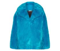 Mantel aus Faux Fur in Oversized-passform