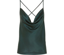 The Jacqueline Top aus Seiden-charmeuse