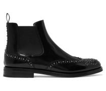 Ketsby Met Chelsea Boots aus Glanzleder