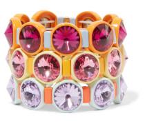 Technicolor Set aus Drei Armbändern