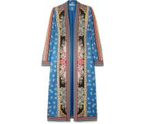 Linoa Kimono aus Bedrucktem Crêpe De Chine