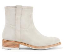 Rindy Ankle Boots aus Veloursleder
