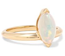 Jitterbug Ring aus 18 Karat  mit Opal