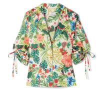 Kelly Hemd aus Bedrucktem Baumwoll-voile
