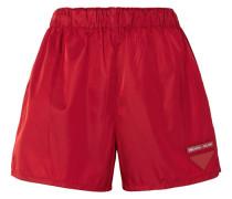 Shorts aus Shell mit Applikation